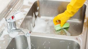 Így tartsd tisztán a konyhai vízcsapot!