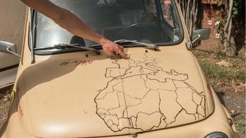Aszfaltpattanással Afrikába