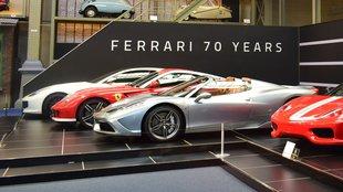 Kiállítás a 70 éves Ferrari tiszteletére