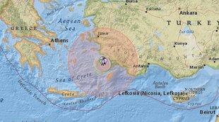 A hajnali Égei-tengeri földrengés okai