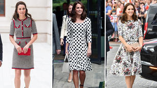 Melyik nyáriruhában szebb Katalin hercegné?