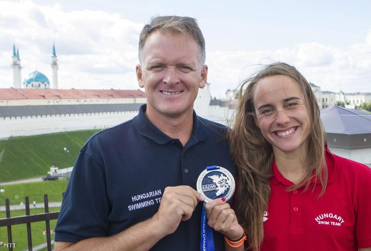 Gellért Gábor és Olasz Anna a kazanyi vizes világbajnokságon