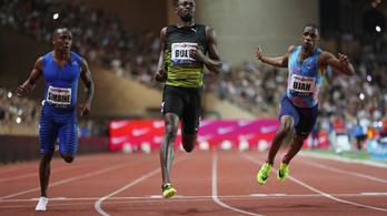 Usain Bolt küszködve nyert utolsó Gyémánt Ligáján