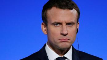 Tíz százalékkal csökkent Macron népszerűsége
