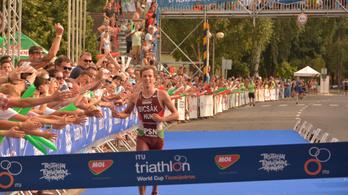 Nagy futással magyar győztese lett a triatlon-világkupának