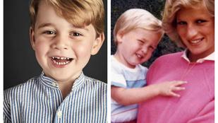 A kis György herceg akár saját apja ikertestvére is lehetne, annyira hasonlítanak egymásra
