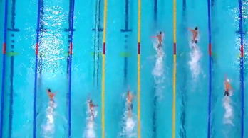 Videón a gyorsváltó utolsó 50 méterének extázisa