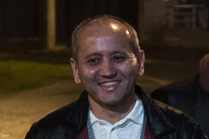 Muhtar Abljazov Párizs közelében 2016. december 9-én