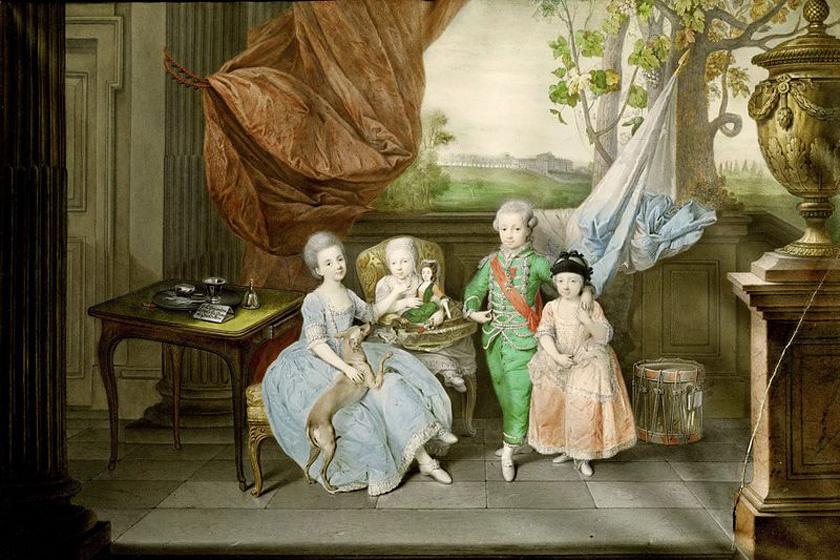 A Habsburg nevelés nagyon szigorú volt - A gyerekek szinte soha nem látták szüleiket