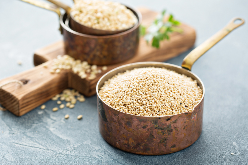 quinoa szaraz