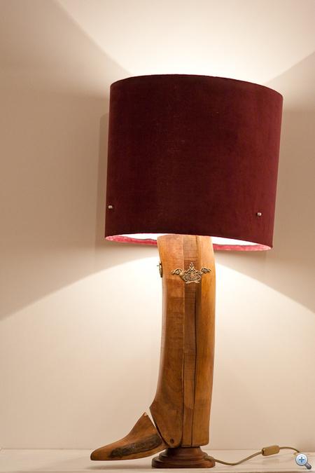 Vágó Réka lámpája egy kaptafára megy