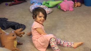 Magasnyomású oxigénterápiával fordították vissza egy kislány agykárosodását