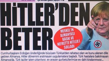 A török sajtó ismét lenácizta Merkelt