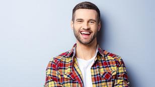 A mosolygós férfi cuki, de nem vonzó