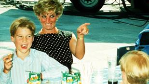 Vilmos herceg szerint Diana hercegnő rémálom nagymama lett volna