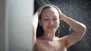 Este vagy reggel jobb zuhanyozni?