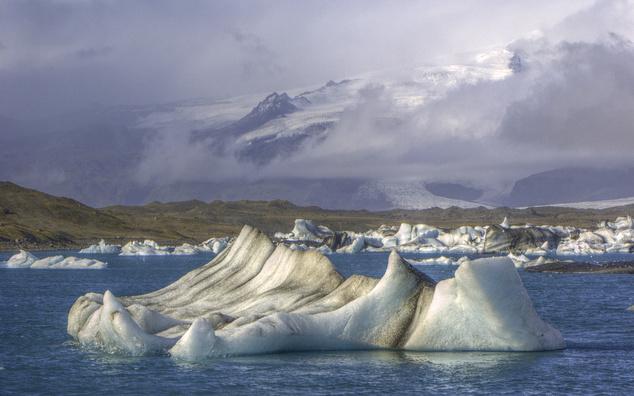 Jökulsárlón gleccsertó