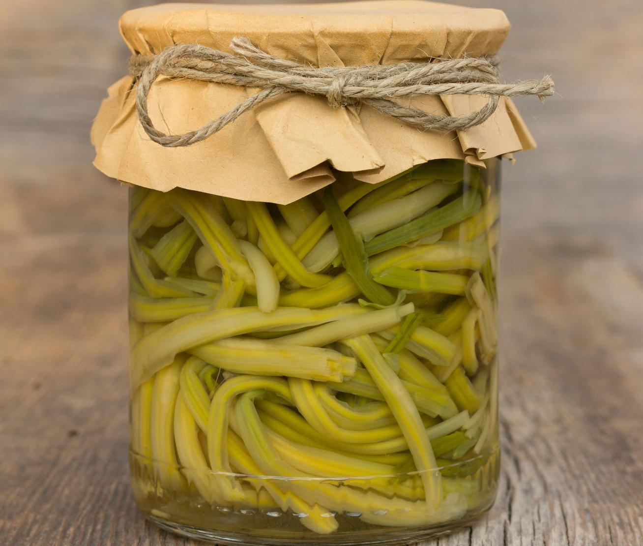 Roppanós zöldbab üvegben eltéve - Ez a legegyszerűbb módszer