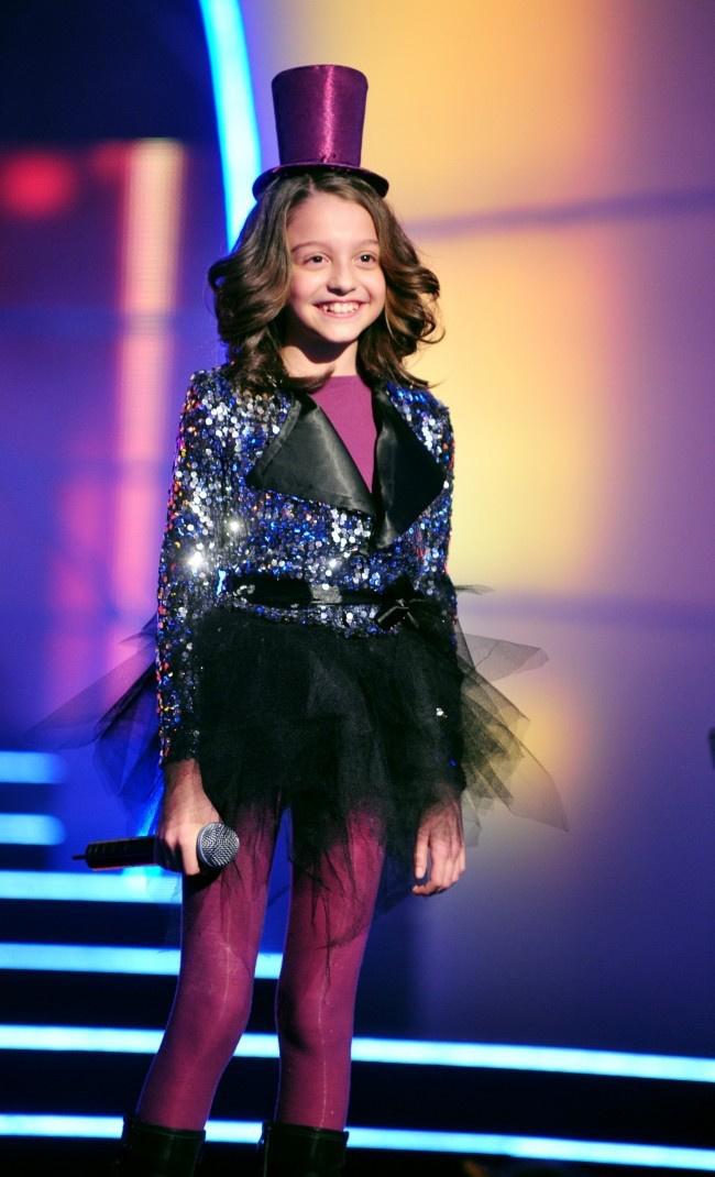 A 11 éves Patai Anna a nyolcadik lett a Megasztár 5 döntőjében.