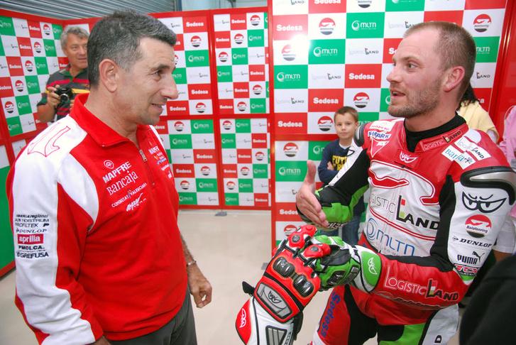 Aspar és Gábor -  2009 Balatonring
