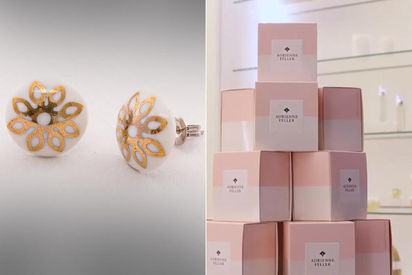 Nyerj Adrienne Feller kozmetikumokat Hollóházi Porcelán fülbevalóval! (x)
