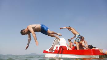 Talán ez lesz a nyár utolsó strandolós hétvégéje