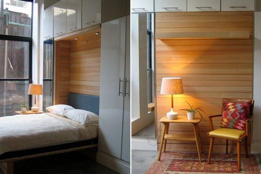 A 25 négyzetméteres lakásban is rengeteg helyed lesz, ha így rendezed be - Praktikus megoldások!