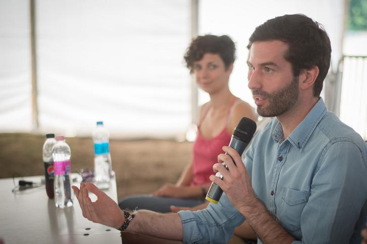 Fekete-Győr András a Momentum bodajki fesztiválján