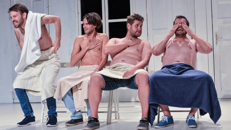 A színészek is elröhögték magukat közben