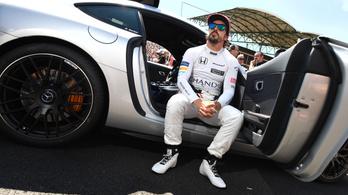 Alonso futotta a leggyorsabb kört a Magyar Nagydíjon