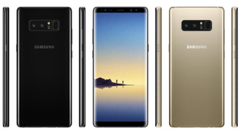 Így nézhet ki az eljövendő Samsung Galaxy Note 8