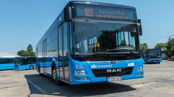 Tizenöt új légkondicionált busz állt forgalomba Budapesten