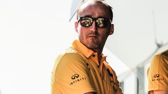 Megjött Kubica, fitt, sérült kezével sem óvatoskodik