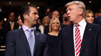 Ha tényleg Trump diktált a fiának, bajban lehet