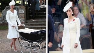 Megint elsütötte Katalin hercegné az Alexander McQueen ruhát
