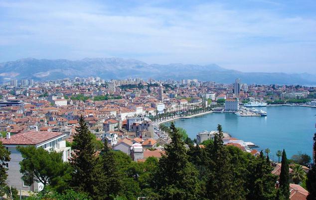 Split városközpont