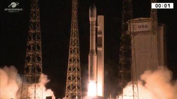 Két műholdat is pályára állított az európai rakéta
