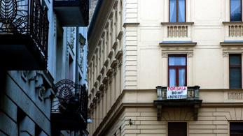 10%-kal drágultak az új lakások Pesten