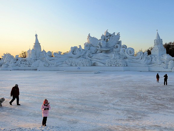 Harbin, a jég városa
