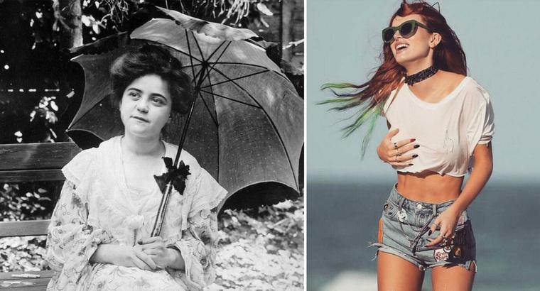 Egészen másra késztette a hőség a képen látható nőből1921-ben, mint Bella Thorne-ból.