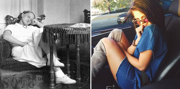 1921-es portré és a napszemüveges Selena Gomez.