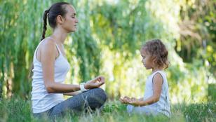 Emberkísérlet: meditált a gyerek, meditáltam én is