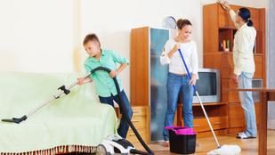 Mennyit kell takarítani az egészséges otthonhoz?