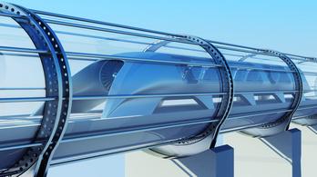 Több mint 300 km/h-val száguldott a Hyperloop tesztjárműve