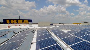 Az IKEA teheti olcsóvá a napelemet