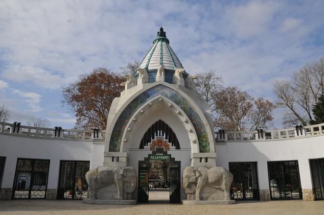 A Fővárosi Állatkert főkapuja