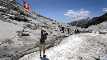 Nem lehet megmenteni a svájci gleccsereket