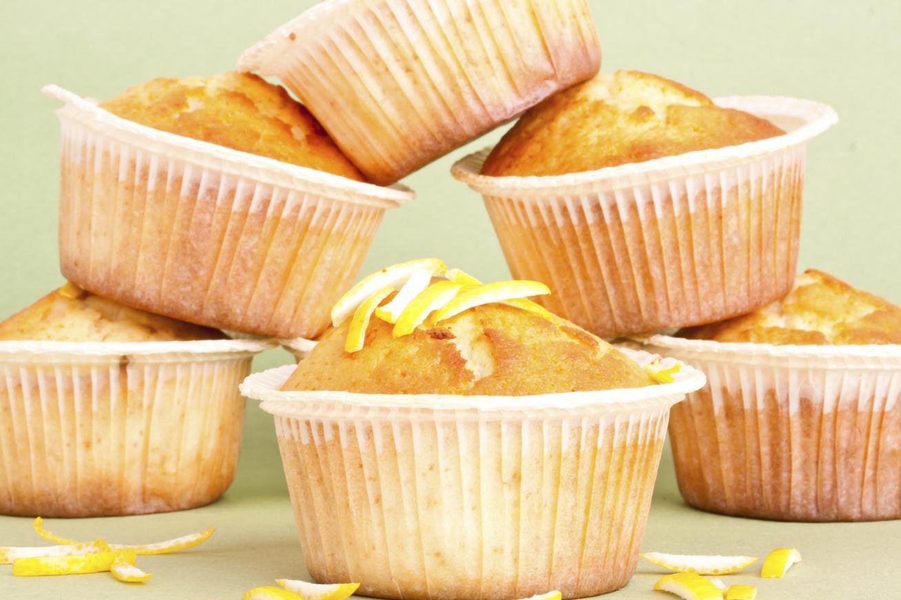 Könnyű citromos muffin joghurtos tésztából - 30 perc, és kész