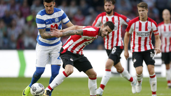 Mészáros Lőrinc horvát csapata kiverte a PSV-t az EL-ből