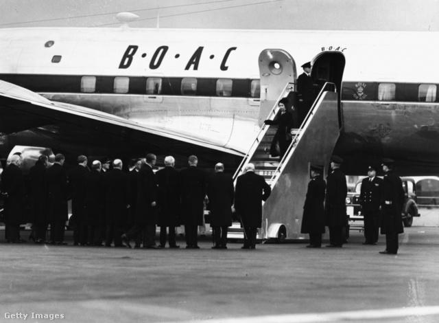 Az ominózus leszállás 1952. február 7-én - kattintásra megnő a kép!